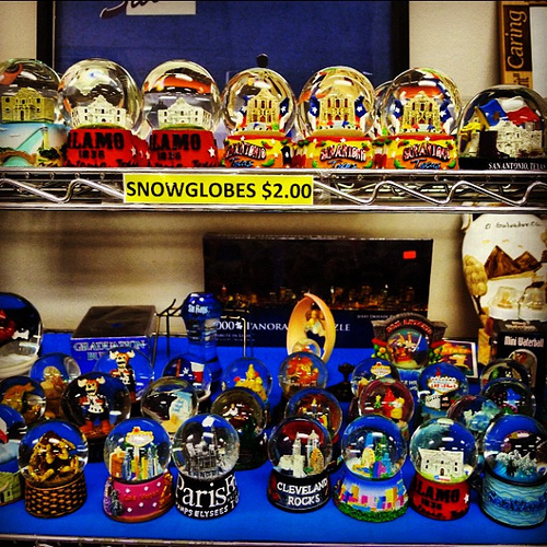 surplus snow globes